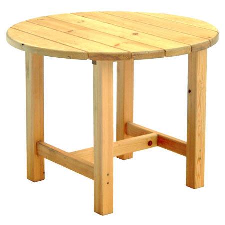 Столы круглые своими руками из дерева